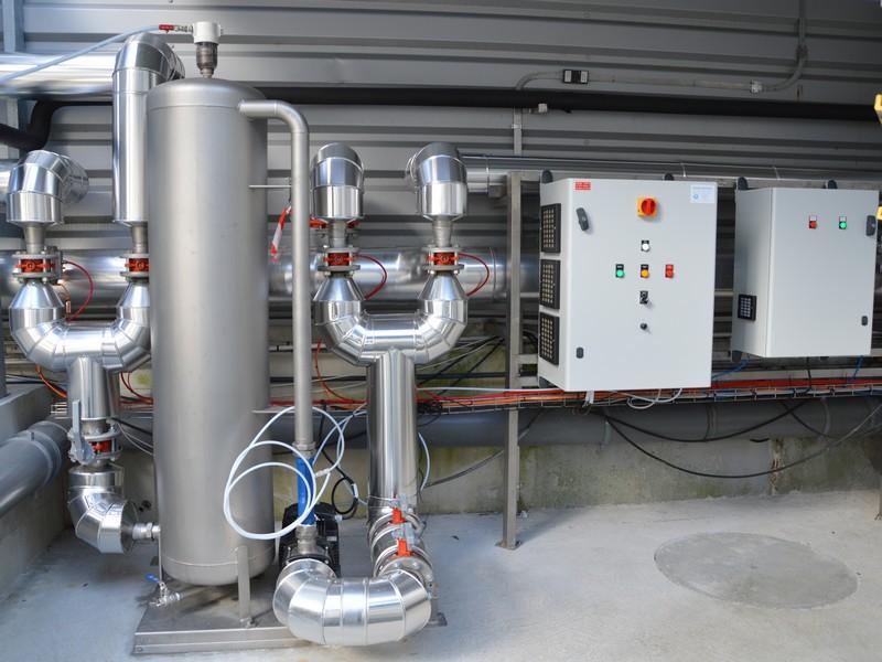 Recyclage d sinfection d 39 eau de refroidissement et process r cup ration d 39 eaux industrielles - Douche recyclage eau circuit ferme ...